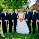 130x130 sq 1395005697340 black orange wedding. bride  groomsmen   a memory