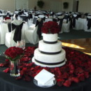 130x130 sq 1395005813736 black white  red wedding cake and reception   a me