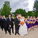 130x130 sq 1395005855289 black white purple weddings   a memory lane even
