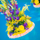 130x130 sq 1395006498339 coral purple green and yellow swimming pool floral