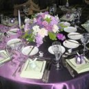130x130 sq 1395007130121 lavender white tablescape   a memory lane even