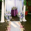 130x130 sq 1395007627215 purple and white chuppa   a memory lane even