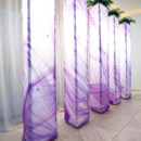 130x130 sq 1395007636507 purple event decor   a memory lane even