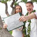 130x130 sq 1428494726123 big island hawaii kikaua point wedding bride and g