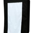 130x130 sq 1431540664625 black booth white door