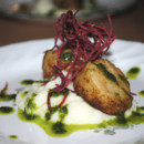 130x130 sq 1489511025725 seared scallops with cauliflower puree and basil e