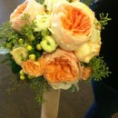 130x130 sq 1416311986656 peaches and creme bridla bouquet2
