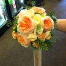 130x130 sq 1416311990178 peaches and creme bridal bouquet