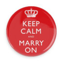130x130 sq 1400962894777 keep calm  marry on button cop
