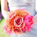 Ceremony/Reception: Chesapeake Bay Beach Club Bridesmaid's Dresses: LulaKate Flowers: Flower Follies
