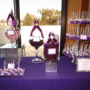 130x130 sq 1366776075270 dark purple and silver candy buffet