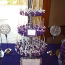 130x130 sq 1366776165073 bling purple candy table