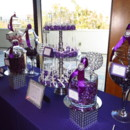 130x130 sq 1366776241225 purple  silver candy buffet
