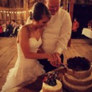 Rustic Chic Decor - Rustic Cake Table - Rustic Cake - Barn Wedding Reception