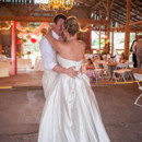 Barn Wedding Reception - Bride Groom Dance - Rustic Chic Decor - Wedding at Dodson Orchards http://dodsonorchrds.com
