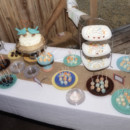 Rustic Cake Table - Barn Decor - Cake Pops - Shabby Chic - Dodson Orchards http://dodsonorchards.com