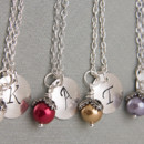 130x130 sq 1394236435034 initialbirthstonepearlnecklace0