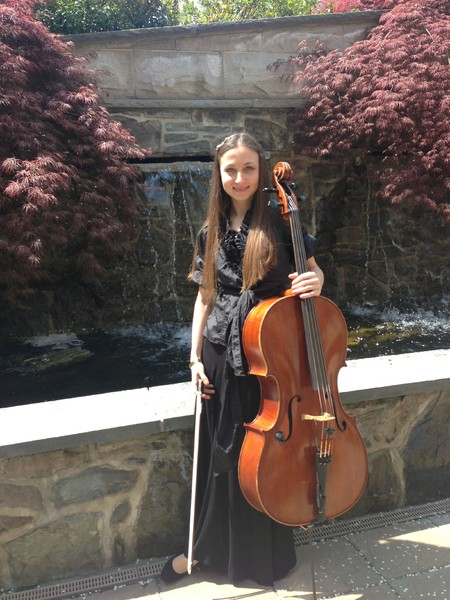 photo 2 of Alexandra NYC Cellist and Ensembles