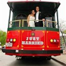 130x130 sq 1335457294822 justmarriedtrolley