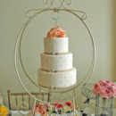 130x130 sq 1421262758895 hanging wedding cake offset swiss dots and roses b