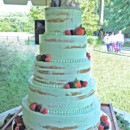 130x130 sq 1421262924511 mint color naked wedding cake