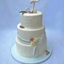130x130 sq 1421263012530 pinecones sugared cranberries winter wedding cake