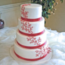 130x130 sq 1421263147481 red vines and leaves wedding cake