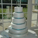 130x130 sq 1421263286388 stencil and bling wedding cake