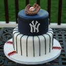 130x130 sq 1421267403242 new york yankees grooms cake