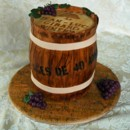 130x130 sq 1421267472624 wine barrel grooms cake