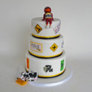 130x130 sq 1449608107498 amazing race grooms cake