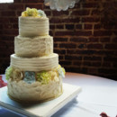 130x130 sq 1467468639447 buttercream wedding cake with sugar flowers