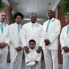 220x220 sq 1455404783019 groomsmen white suits charlotte nc wedding