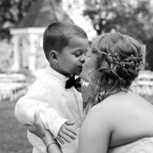 220x220 sq 1455404800983 ring bearer kiss bride candid monroe nc