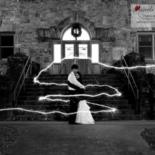 220x220 sq 1455404886179 bride groom portrait sparklers asheville nc weddin