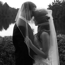 220x220 sq 1455404907301 bride groom under veil lake charlotte nc