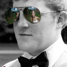 220x220 sq 1455404923838 bride reflected groom sunglasses monroe nc