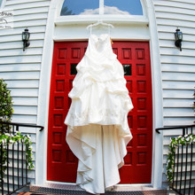 220x220 sq 1455405050983 wedding dress red church door cary nc