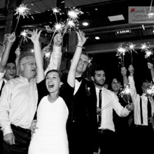 220x220 sq 1455405158169 bride groom reception exit sparklers asheville nc