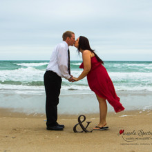 220x220 sq 1455409115972 engagement beach wilmington nc couple