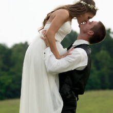 220x220 sq 1465334459037 groom lifts bride in field marshville nc 1