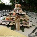 130x130 sq 1338601461871 camjohnsonweddingcakewineglasses