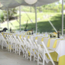 130x130 sq 1464807872980 yellow table cloth rental