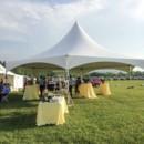 130x130 sq 1466541982629 yellow tables hexagon tent