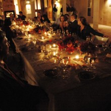220x220 sq 1496610791471 night candle dinner