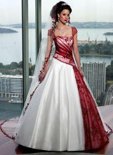 220x220 1351205022707 whiteandredweddingdress2011