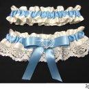130x130 sq 1337727723490 weddinggarterwithcornflowerblueribbonandrhinestoneheart2
