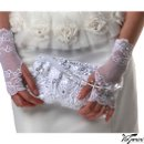 130x130 sq 1337728621920 bridalclutchwithlaceandclearbeadshandle3