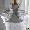 130x130 sq 1337729678536 bridalshoulderwrapsilkandorganzalace3