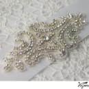 130x130 sq 1370219881879 bridal sash rhinestone applique viogemini 2